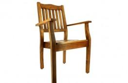 360 dönen ahşap sandalye fotoğrafı